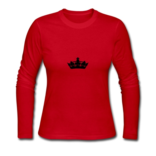 Crown - Women's Long Sleeve Jersey T-Shirt