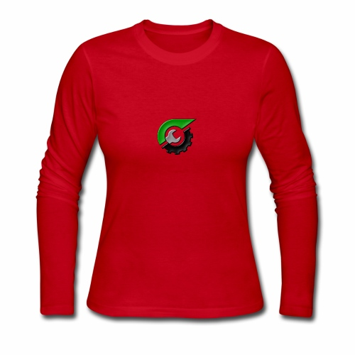 JeepSolid Logo - Women's Long Sleeve Jersey T-Shirt