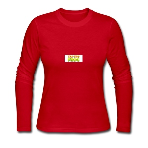 Tap the frog - Women's Long Sleeve Jersey T-Shirt