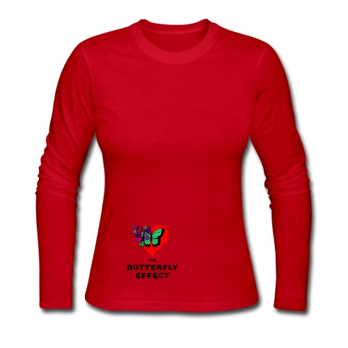 The Butterfly Effect ~ OTG - Women's Long Sleeve Jersey T-Shirt