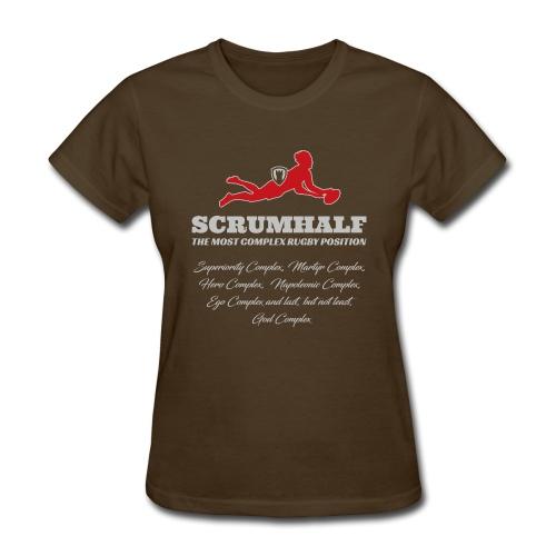Rugby Scrumhalf Complex - Women's T-Shirt