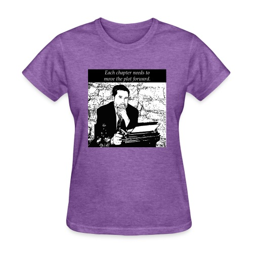 Plot forward! - Women's T-Shirt
