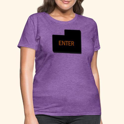 enter keyboard part - Women's T-Shirt