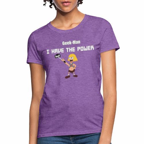 Geek-Man - Women's T-Shirt