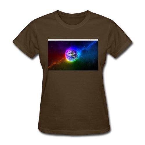 Earth shock wave - Women's T-Shirt