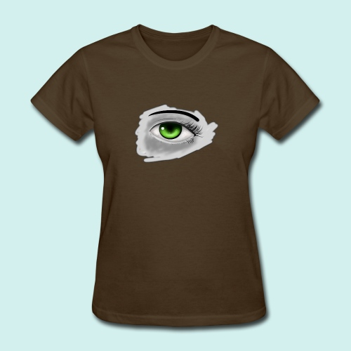 Realist Anime green eye - Women's T-Shirt