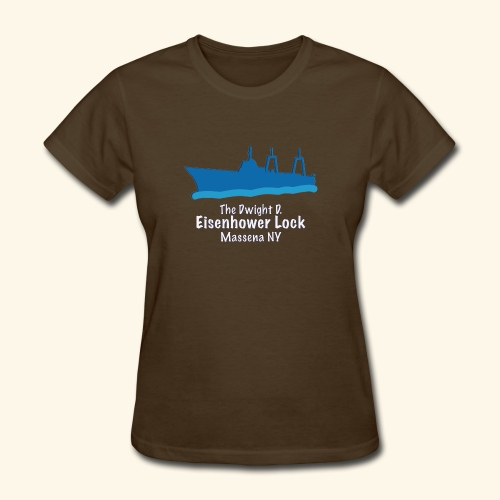 Eisenhower Lock Blue - Women's T-Shirt