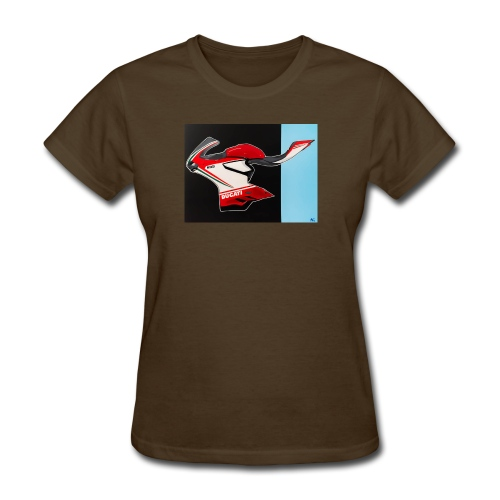 Naked Ducati - Women's T-Shirt