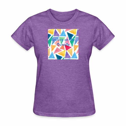 Smiling On The Outside - Women's T-Shirt