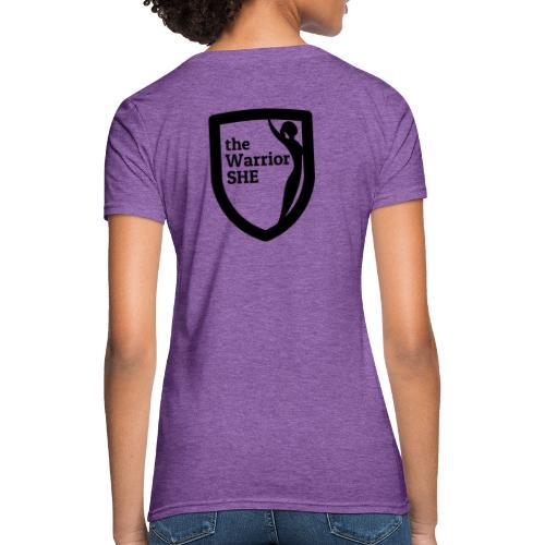 theWarriorSHE logo t-shirt - Women's T-Shirt