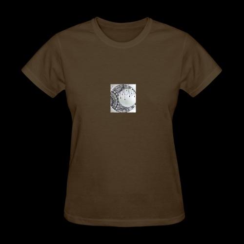 Black Grey Dream Moon Catcher - Women's T-Shirt