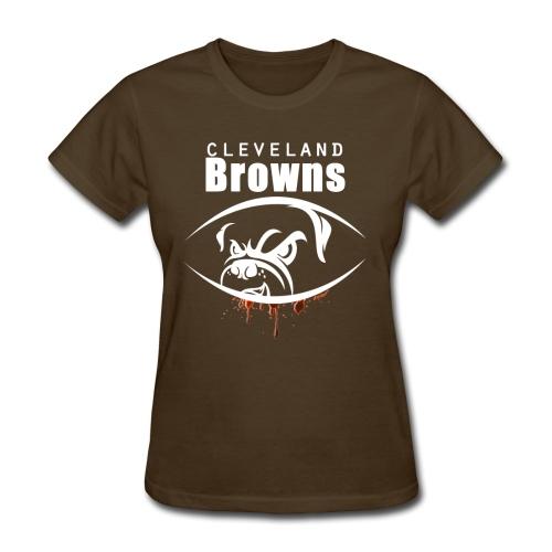 win lose or tie i ll bleed orange brown3 - Women's T-Shirt