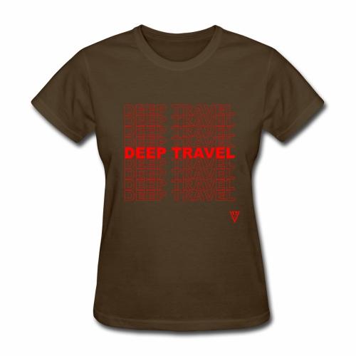 DEEP TRAVEL - Women's T-Shirt