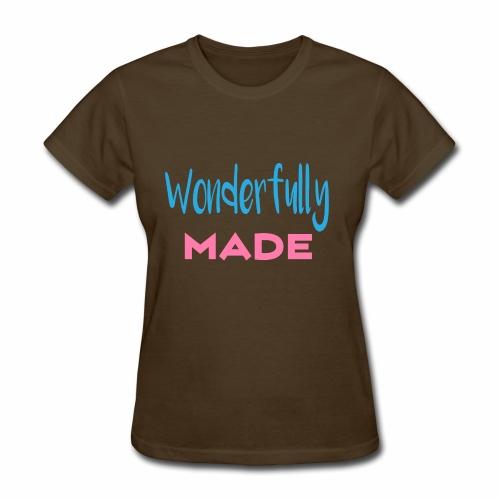Wonderfully Made - Women's T-Shirt