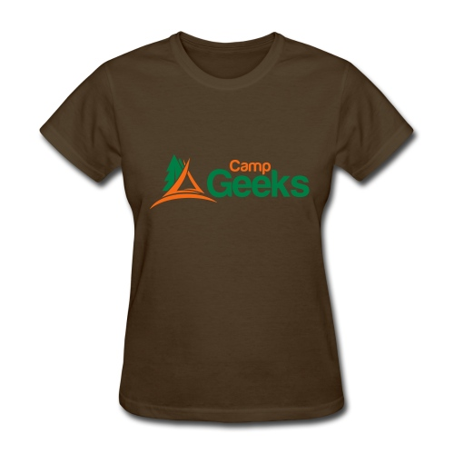 CampGeeks Logo - Women's T-Shirt