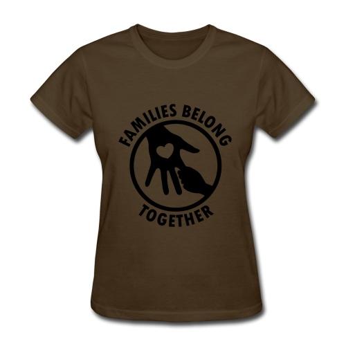 Families Belong Together - Women's T-Shirt
