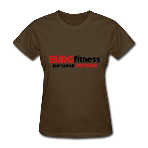 Burg Fitness Personal Defense - Women's T-Shirt