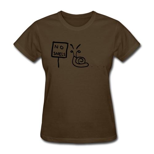 No Snels Original - Women's T-Shirt