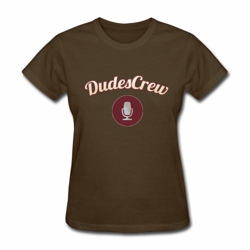 Dudes Crew Logo - Women's T-Shirt
