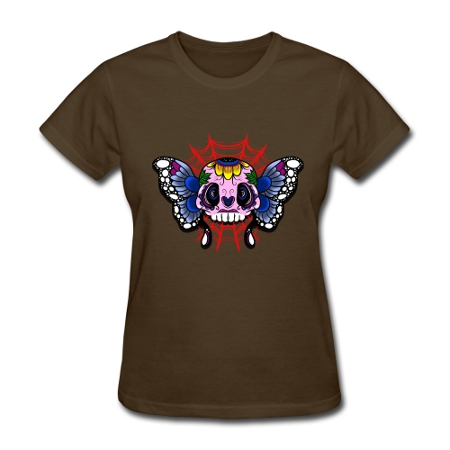 skull butterfly - Women's T-Shirt