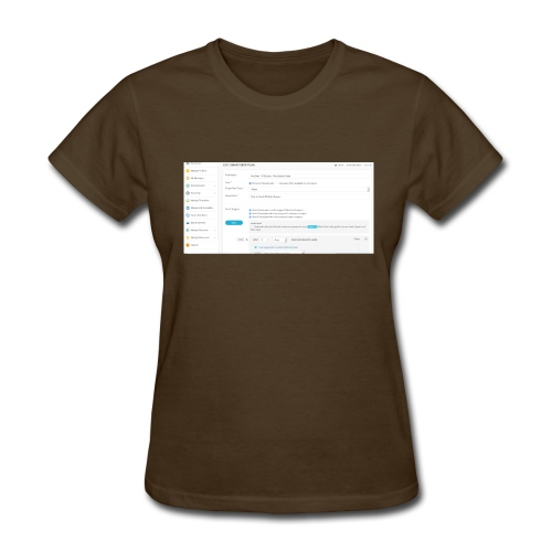 drip plan - Women's T-Shirt