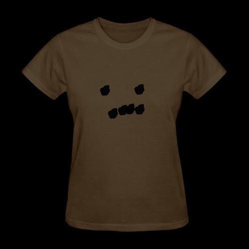 sad dot face - Women's T-Shirt