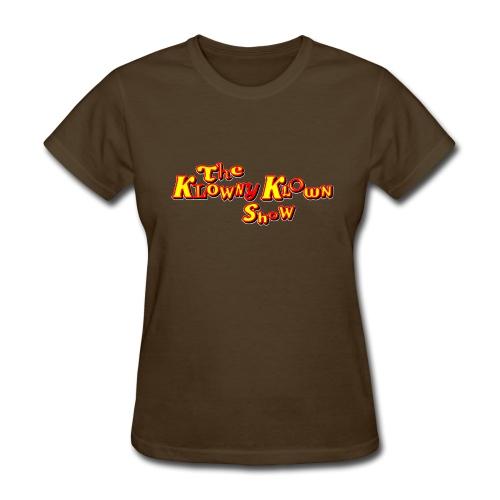 The Klowny Klown Show Logo - Women's T-Shirt