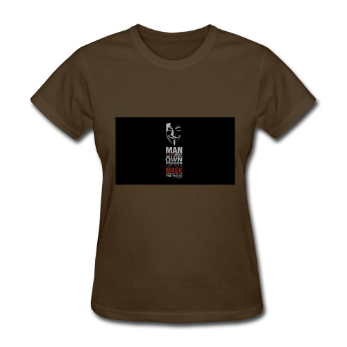 Anonymous tag - Women's T-Shirt