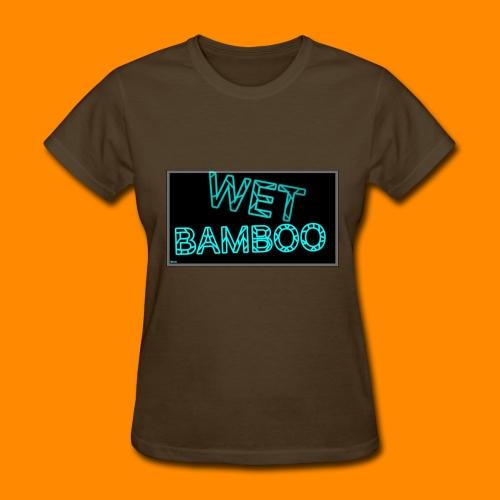 WET BAMBOO GLOWIEEE SHIRT - Women's T-Shirt