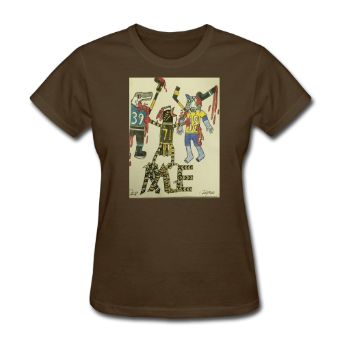 A pens two back to back on the attack - Women's T-Shirt