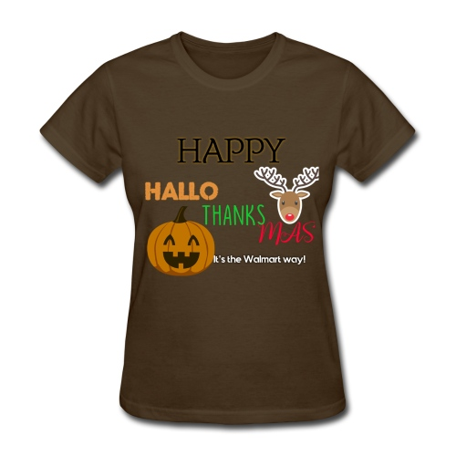 HAPPY HALLO-THANKS-MAS - Women's T-Shirt