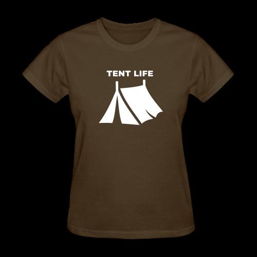 Tent Life - Women's T-Shirt