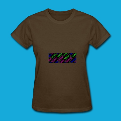The Move logo box silhouette - Women's T-Shirt