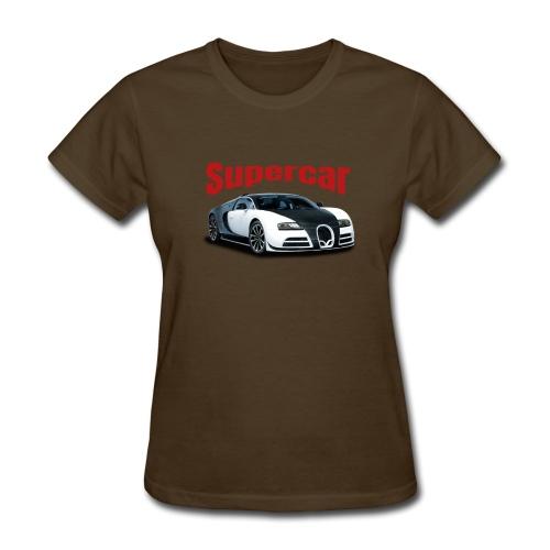 Supercar - Women's T-Shirt
