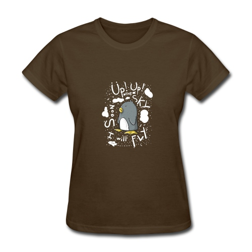 up up pinguin - Women's T-Shirt