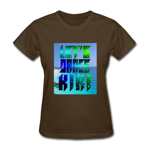 and finally lovers of this kiki dance for you - Women's T-Shirt
