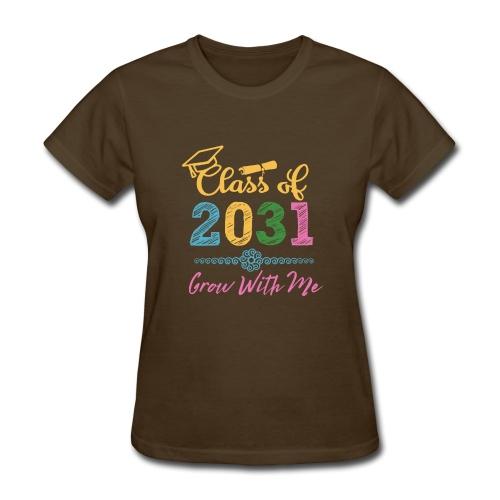 Class of 2031 First Day of School Shirt - Women's T-Shirt
