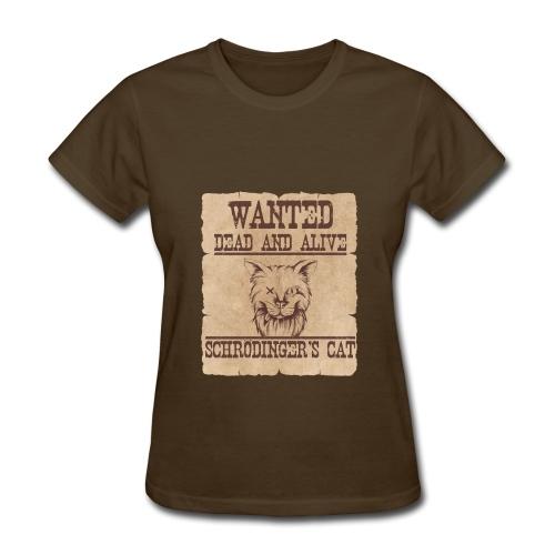 Schrödingers Cat - Women's T-Shirt