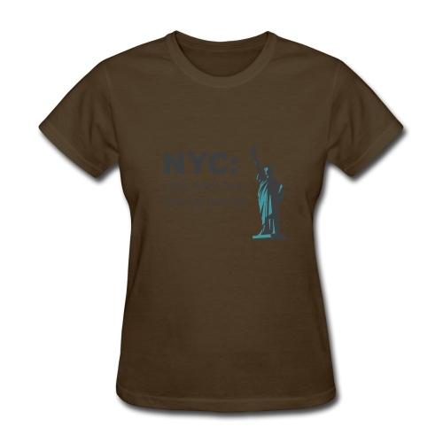 nyc!!! - Women's T-Shirt