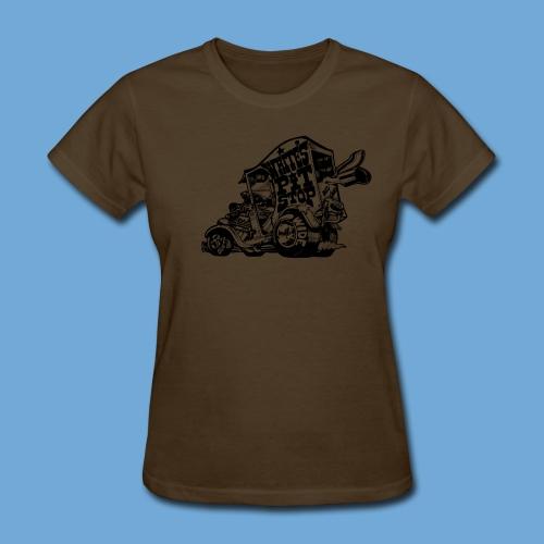 White's Pit Stop - Black - Women's T-Shirt