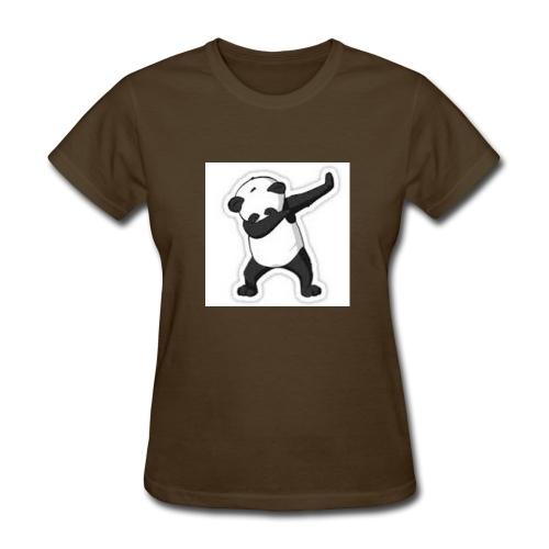 dabbing panda - Women's T-Shirt