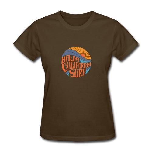 Baja California Surf New - Women's T-Shirt