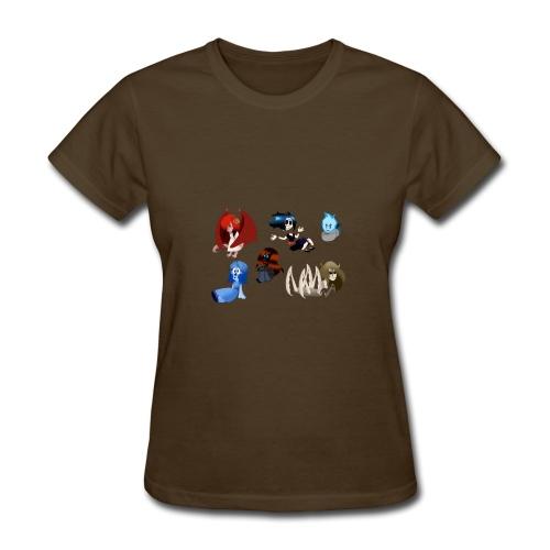 Halloween Funny skull zombie pumpkin T shirts 1 - Women's T-Shirt