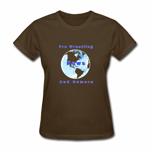 Pro Wrestling News and Rumors Official T-Shirt - Women's T-Shirt