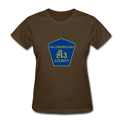 Hillsborough the813 County - Women's T-Shirt