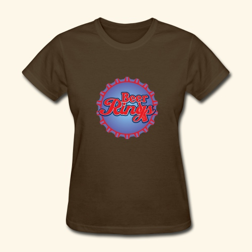 Beer Rings - Women's T-Shirt