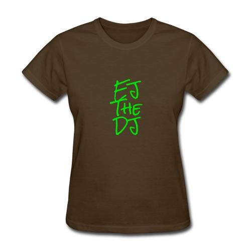 EJ The DJ classic design - Women's T-Shirt