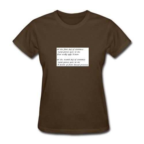 harry potter xmas - Women's T-Shirt