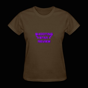 Shooting Star Review Purple Logo - Women's T-Shirt