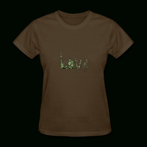 Love and War - Army - Women's T-Shirt